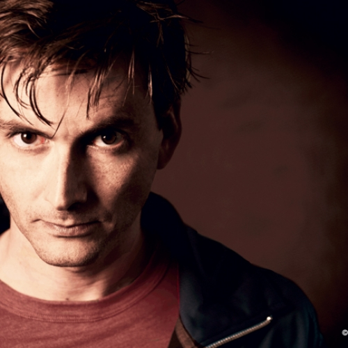 David Tennant by Wendy Lynch Redfern.
