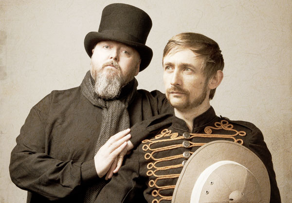 Thomas Walsh and Neil Hannon are The Duckworth Lewis Method.