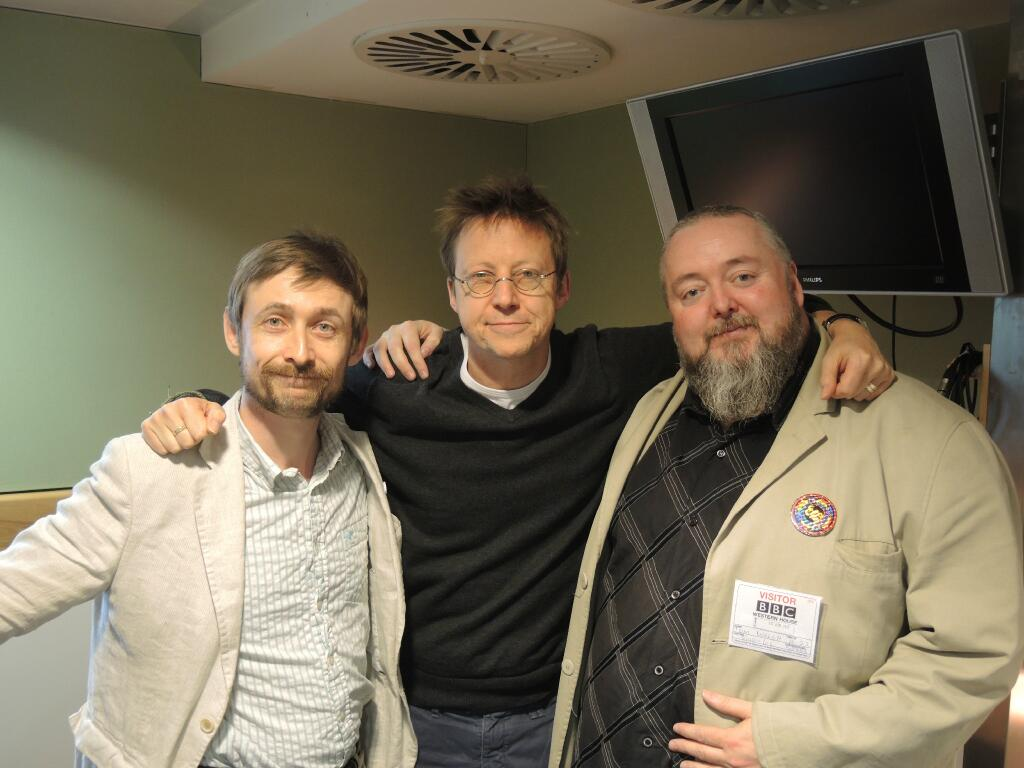 The gents with Simon Mayo.